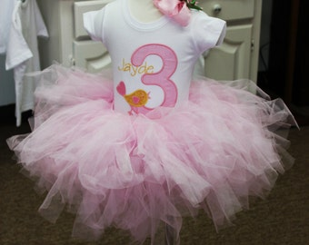 Greatstitch Sweet Birdie 1st Birthday Shirt Girl 2nd Birthday 3rd Birthday