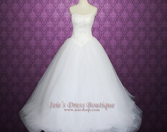 Princess Tulle Wedding Dress Timeless - Sonia