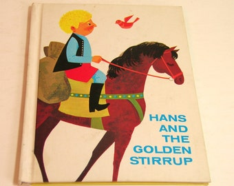 Hans And The Golden Stirrup Vintage Childrens Book