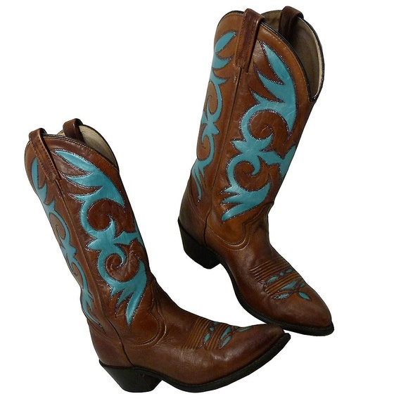 Awesome  Hand Painted Cowboy Boots On Pinterest  Western Boots Glitter Shoes
