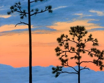 """Ultimate Sunset - 11""""x17"""" Signed Print"""