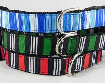 Simple Stripes Dog Collar