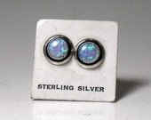 Sterling & Opal Earring RF077