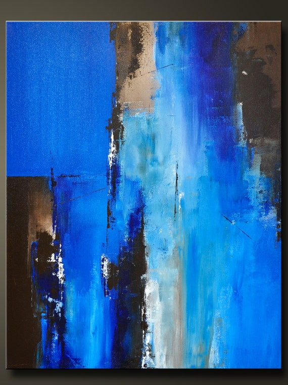 Passage 2 30 x 24 abstract acrylic painting on for Modern abstract paintings for sale