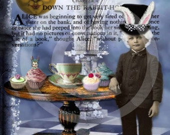 White Rabbit  Gothic Victorian Artisan Perfume Oil from the Go Ask Alice Collection