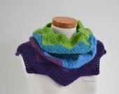 FLOWER2, Crochet cowl pattern pdf