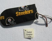 Padded Eyeglass / Sunglass Case - STEELERS Colorful Print Eyeglass Case specially for Kids or Young at Heart