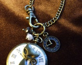 Kitty in Time necklace