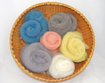 Felting Merino in Assorted Colors - 4 ounces