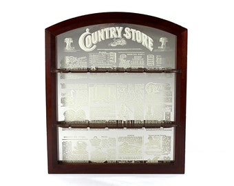 """Vintage """"Country Store"""" Mirror"""
