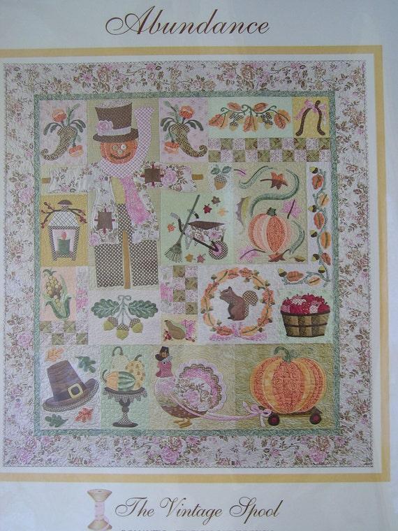 Abundance Heirloom Quilt Pattern Verna Mosquera The