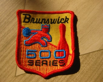 Vintage Bowling Patch