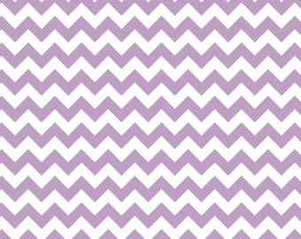 SALE - Riley Blake - Small Chevron in Lavender