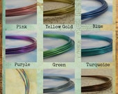 Niobium Wire - Hypoallergenic - You Pick the Color - 100% Guarantee