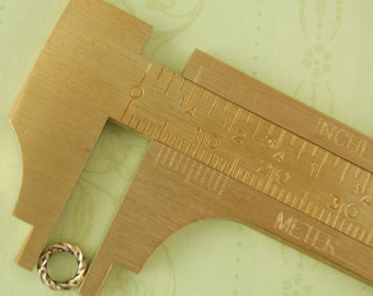 Slide Calipers - Great for Measuring Jump Rings, Wire and More - Free Jump Ring Sampler Included