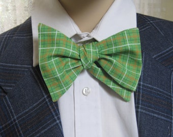 Men's Bow Tie Classic Plaid
