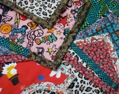 one-of-a-kind fabric bib
