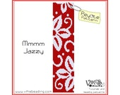 Peyote Pattern for bracelet: Mmmm Jazzy -  INSTANT DOWNLOAD pdf -Discount codes are available