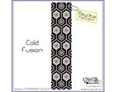 Peyote Bracelet Pattern: Cold Fusion - INSTANT DOWNLOAD pdf - New Discount codes