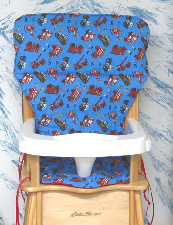 Eddie Bauer Jenny Lind Wood High Chair Cover Pad By