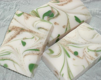 Oak Leaves and Acorns Soap / Outdoor Woodsy Scent / Cold Process Handmade Soap