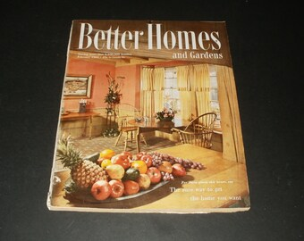 Vintage Better Homes and Gardens Magazine February 1951 - 238 Pages - Vintage Ads Scrapbooking Retro Collectible