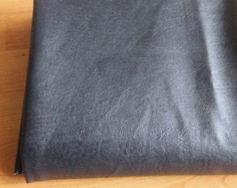 Navy VINTAGE style Faux Leather 70cm, U10013