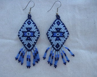 Navajo Rug in Blues