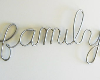 Word sculpture-long words