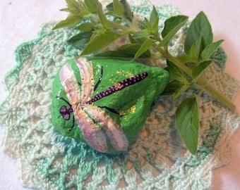 Dragonfly Rock Art