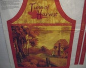 Time of Harvest Apron Panel (268)