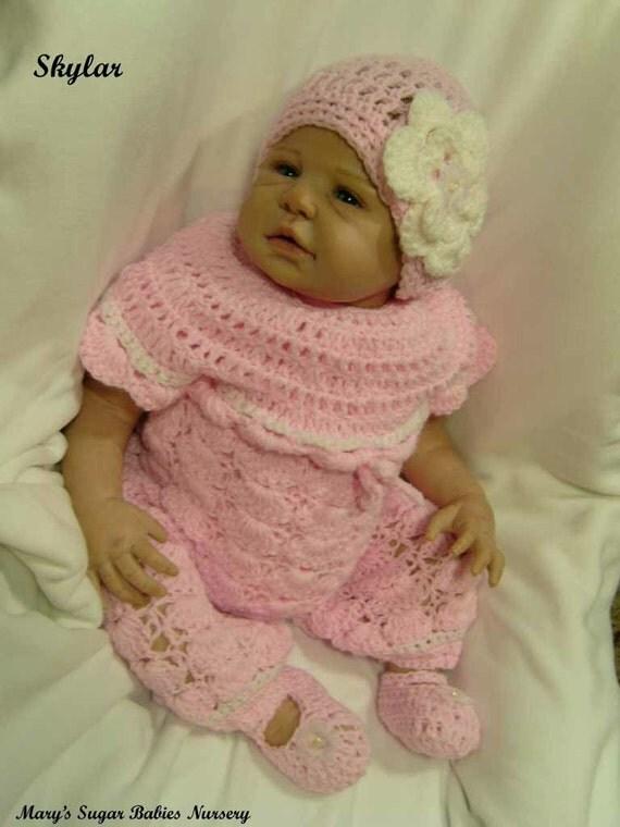OOAK Realistic Reborn Baby Girl SKYLAR