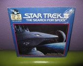 "CLOSING SHOP SALE Vinyl Record Album Star Trek Iii In Search For Spock 7"" Sealed Lp 1984 Children's Sci-Fi Classics"
