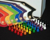 New PEGS and Jokers 8-pc Game with Interlocking paddles. Ships Next Day!