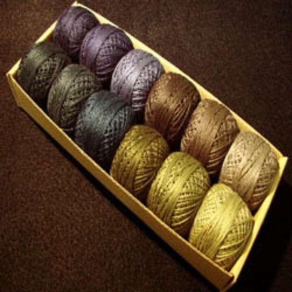 Items Similar To Valdani Perle Cotton Size 12 Embroidery