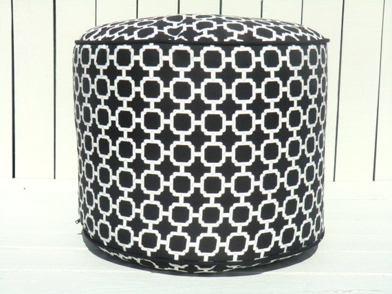 Unavailable listing on etsy for Ulani outdoor round pouf ottoman