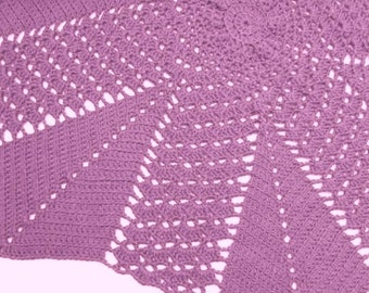 Baby CROCHET PATTERN Shawl Baby Blanket Afghan - Star shaped