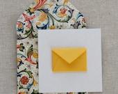 Tiny Envelope Gift Enclosure Cards - Florentine