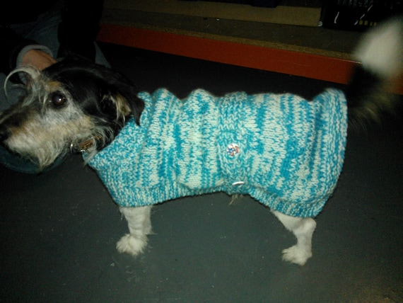 Jack Russell Coat knitting pattern