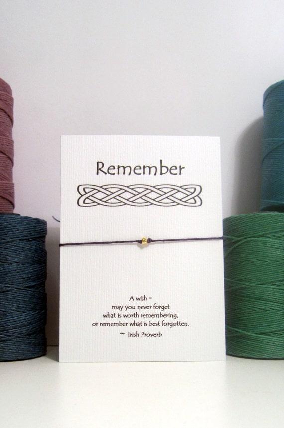 Something to Remember Bracelet, the reminder bracelet