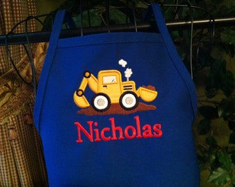 Under Construction Personalized Apron