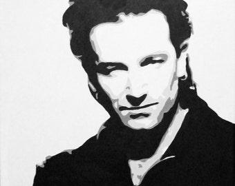 Bono U2 Original Painting