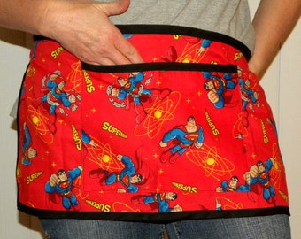 Superman Unisex Waist Apron