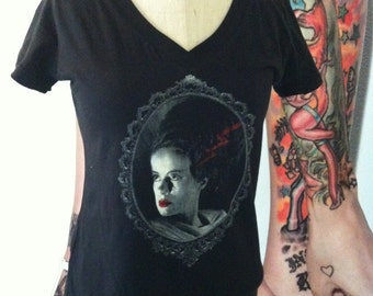 Bride of Frankenstein shirt horror shirt