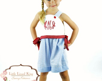 375f33269ba SALE Strappy Top And Dress Pattern sizes 6m through 12 girls PDF 2 ...