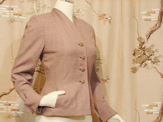 Del Mar Wasp Waist Jacket circa 1940's-1950's