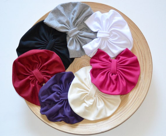 SALE Mini Turban- Jersey Knit