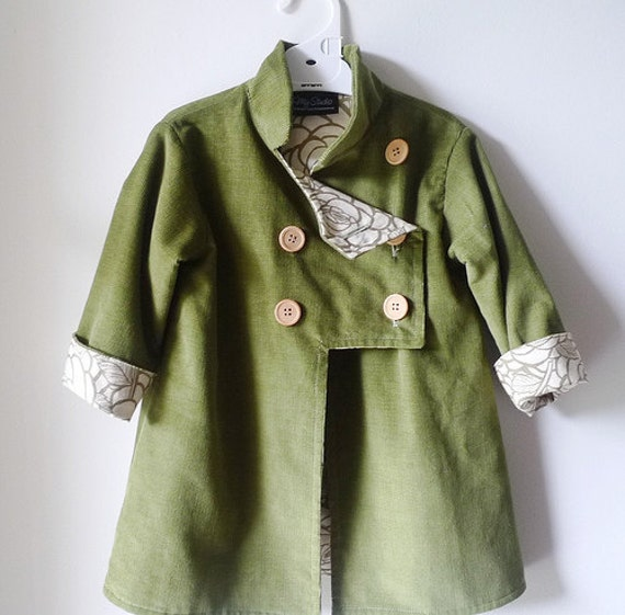 pdf COLD SNAP jacket pattern and tutorial...sizes 2T-5T, easy-to-sew