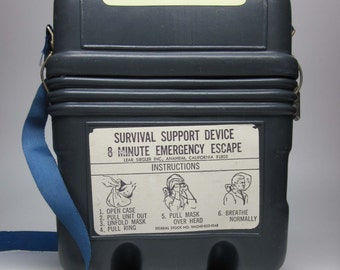 1970s Survival Support Device Carrying Case