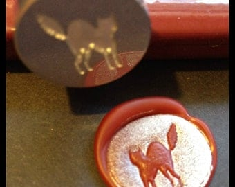 Scaredy Cat Wax Seal Stamp